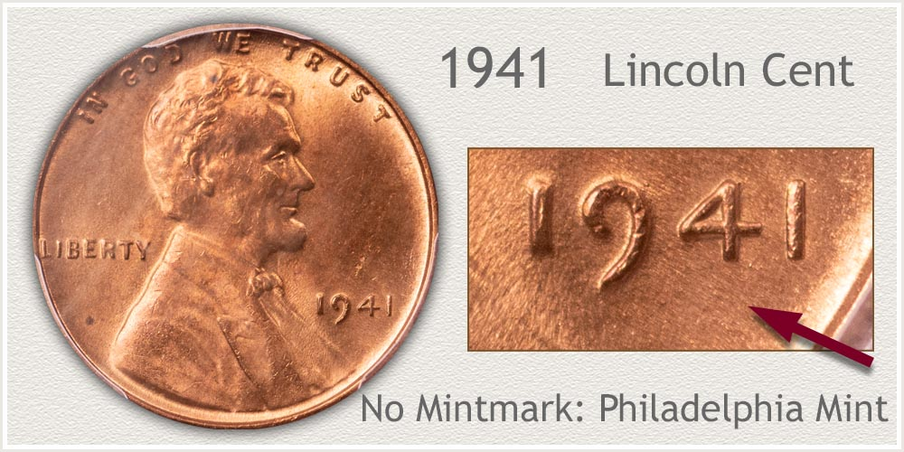 1941 Lincoln Penny