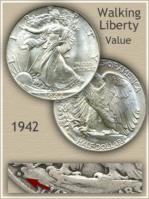 1942 Half Dollar Value Discover Their Worth