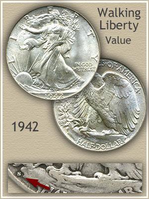 Uncirculated 1942 Half Dollar Value