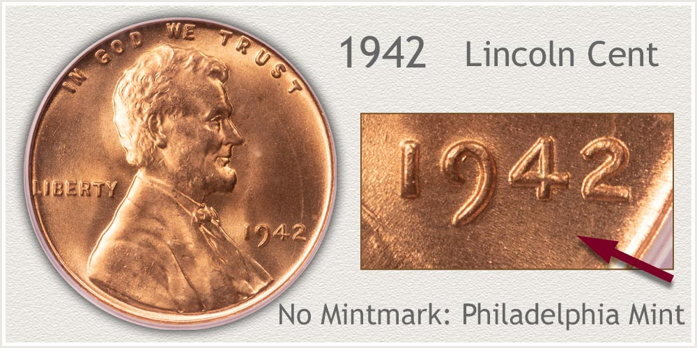 1942 Lincoln Penny