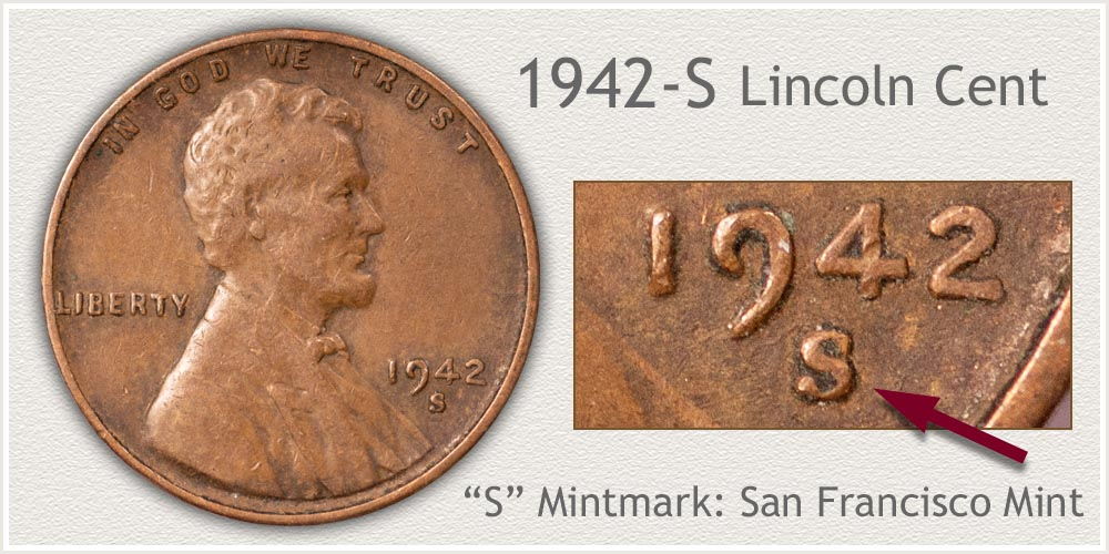 1942-S Lincoln Penny