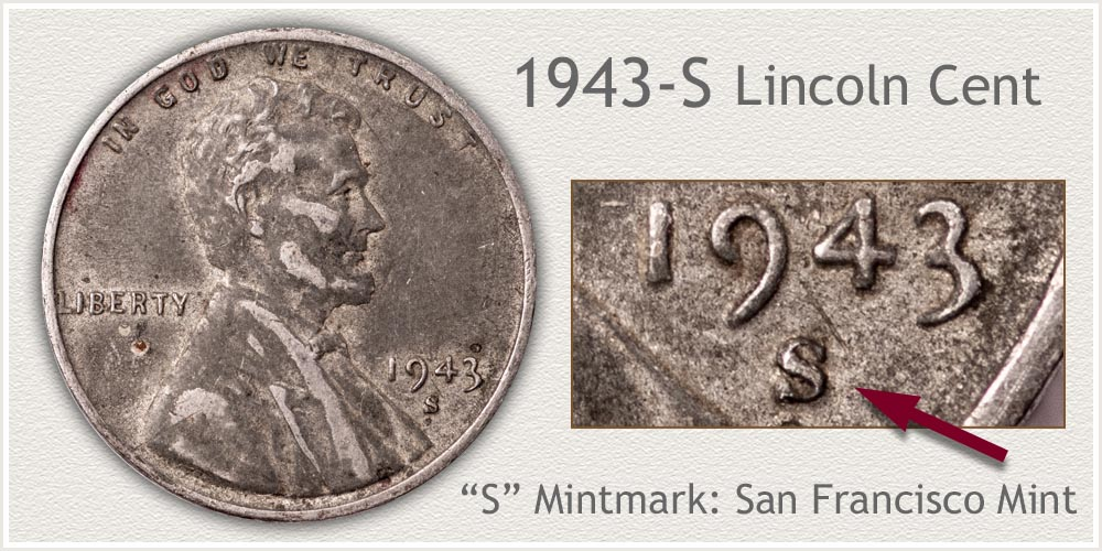 1943-S Lincoln Penny