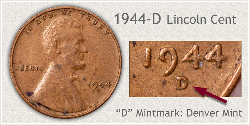 1944-D Lincoln Penny