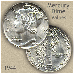 Uncirculated 1944 Dime Value