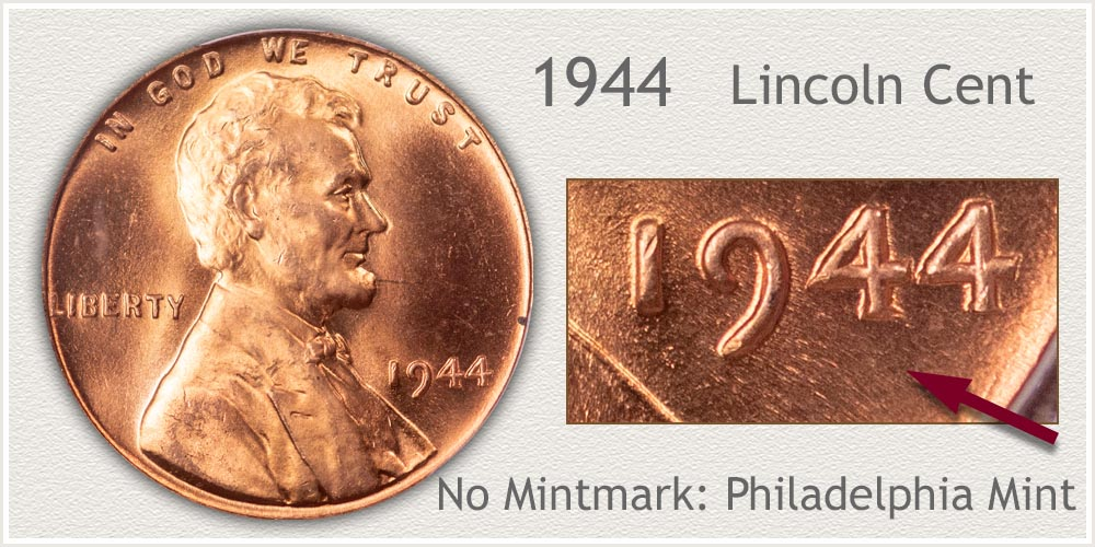 1944 Lincoln Penny