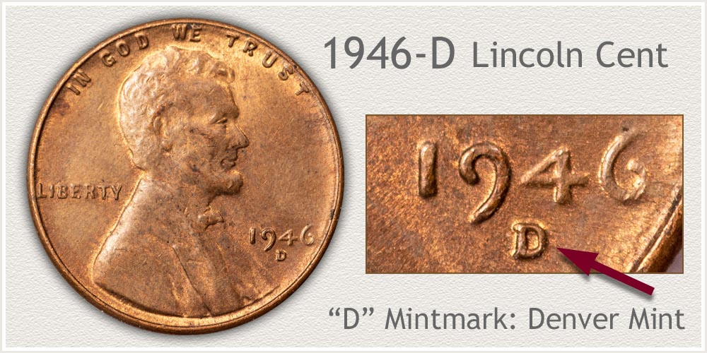 1946-D Lincoln Penny