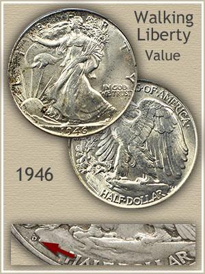 Uncirculated 1946 Half Dollar Value