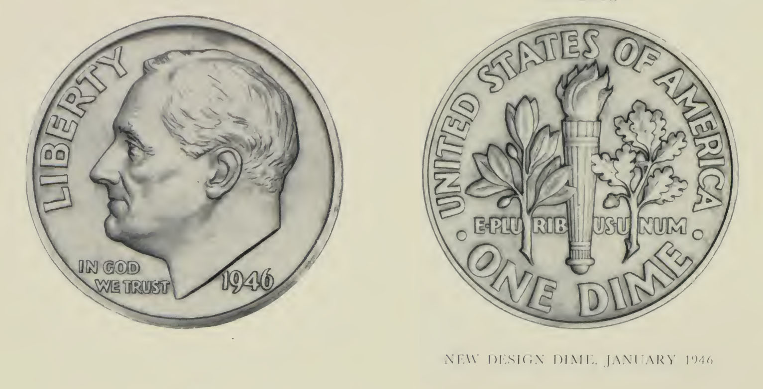 U.S. Mint Image 1946 Dime