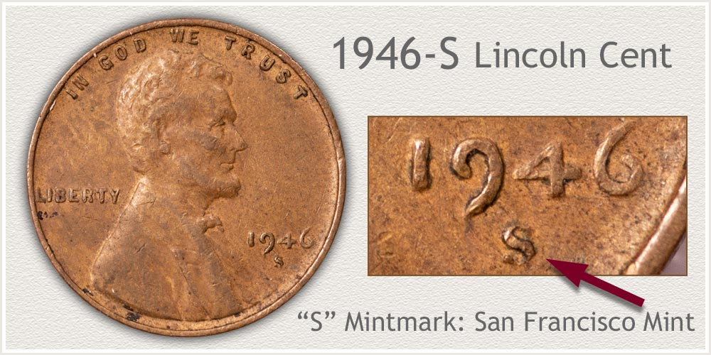 1946-S Lincoln Penny