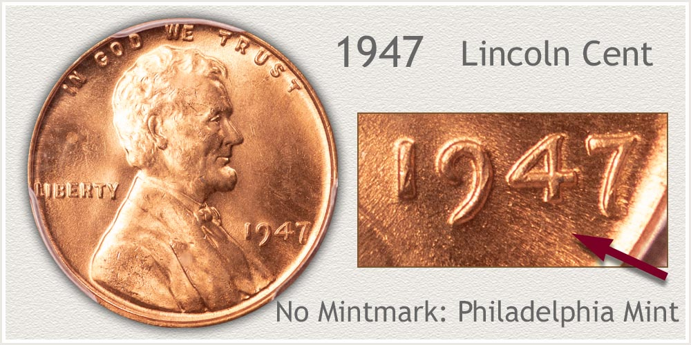 1947 Lincoln Penny