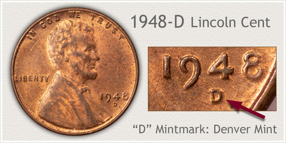 1948-D Lincoln Penny