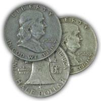 1948 Franklin Half Dollar Circulated Condition