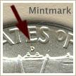 Mintmark Location 1948 Franklin Half Dollar