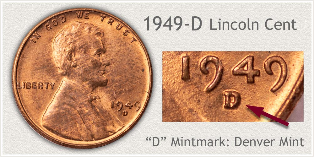 1949-D Lincoln Penny