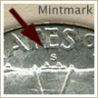 Mintmark Location 1949 Franklin Half Dollar