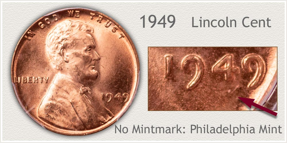 1949 Lincoln Penny
