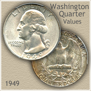 1949 Quarter Value