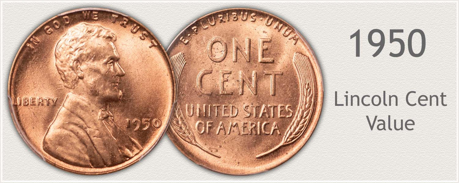 1950 Lincoln Wheat Penny