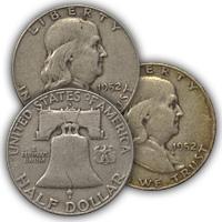 1952 Franklin Half Dollar Circulated Condition