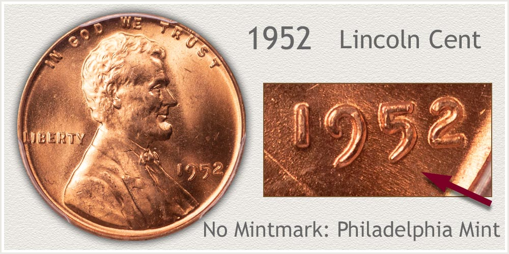 1952 Lincoln Penny