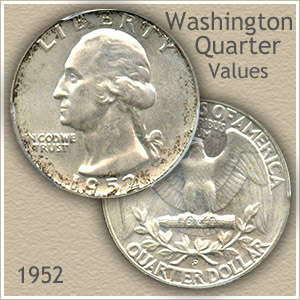 1952 Quarter Value