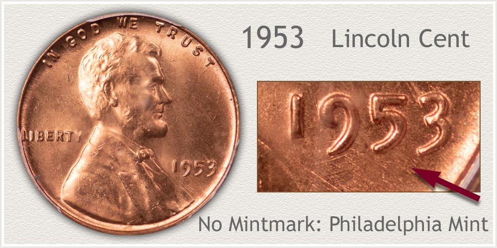 1953 Lincoln Penny