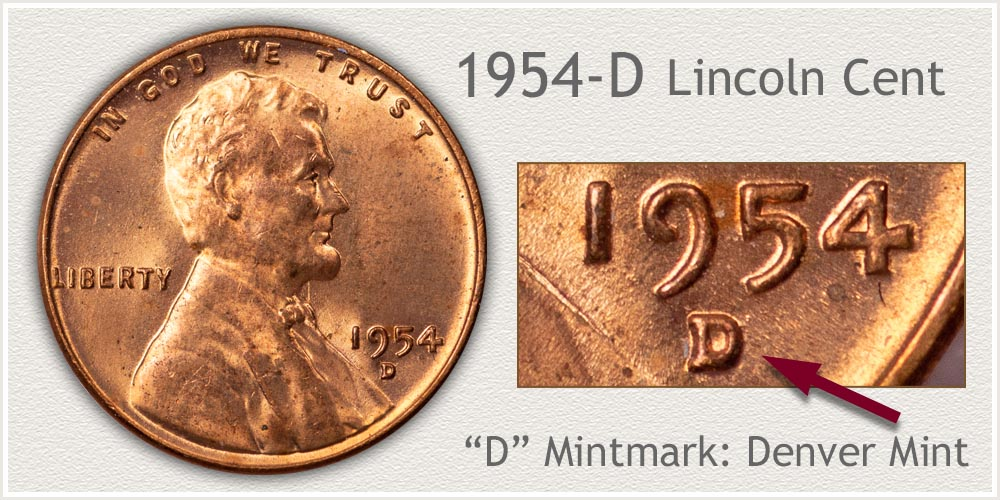 1954-D Lincoln Penny