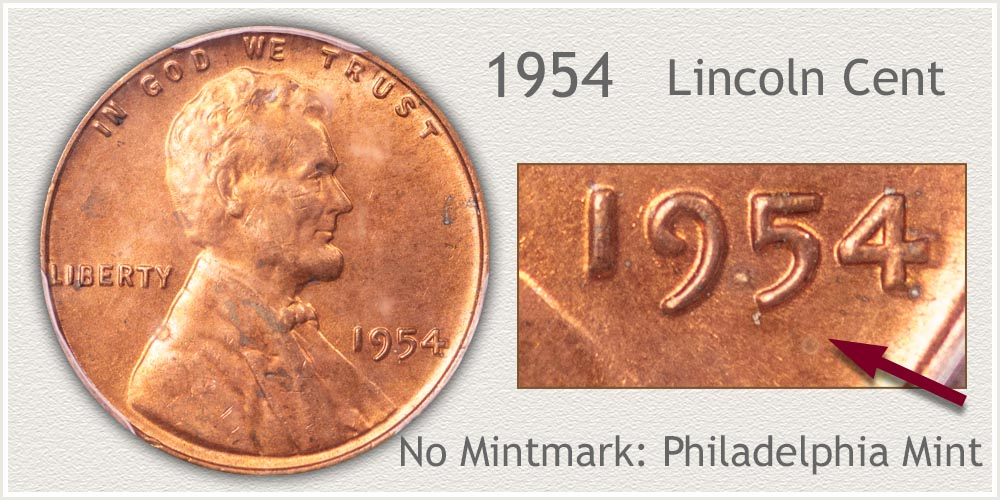 1954 Lincoln Penny