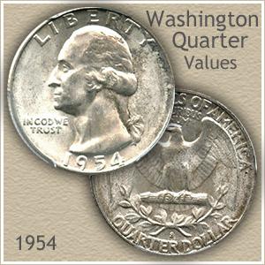1954 Quarter Value