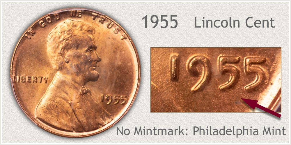 1955 Lincoln Penny