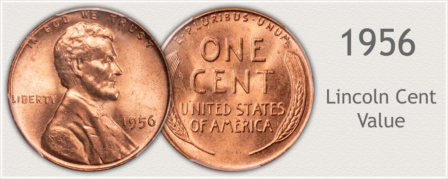 1956 Lincoln Wheat Penny