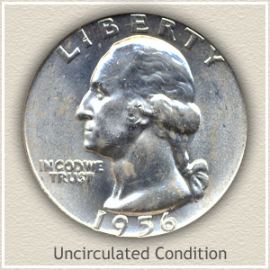 1956 Quarter Uncirculated Condition