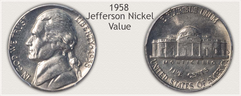 1958 Jefferson Nickel