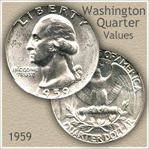 1959 Quarter Value