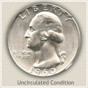 1960 Quarter Uncirculated Condition