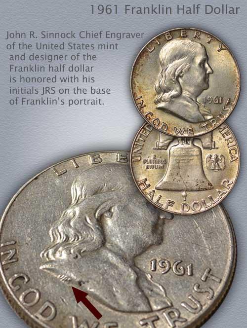 1961 Franklin Half Infograhic