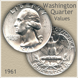 1961 Quarter Value
