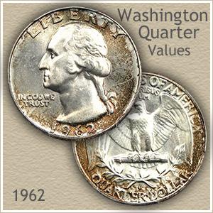 1962-D Washington Silver Quarter