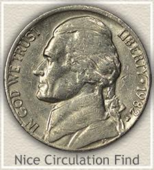 Nice 1982-P Jefferson Nickel