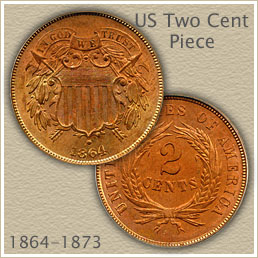 Uncirculated 2 Cent Coin
