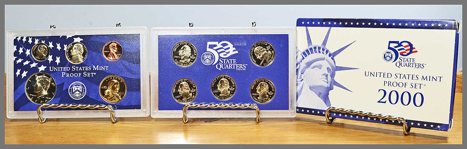 2000 10-Coin Proof Set