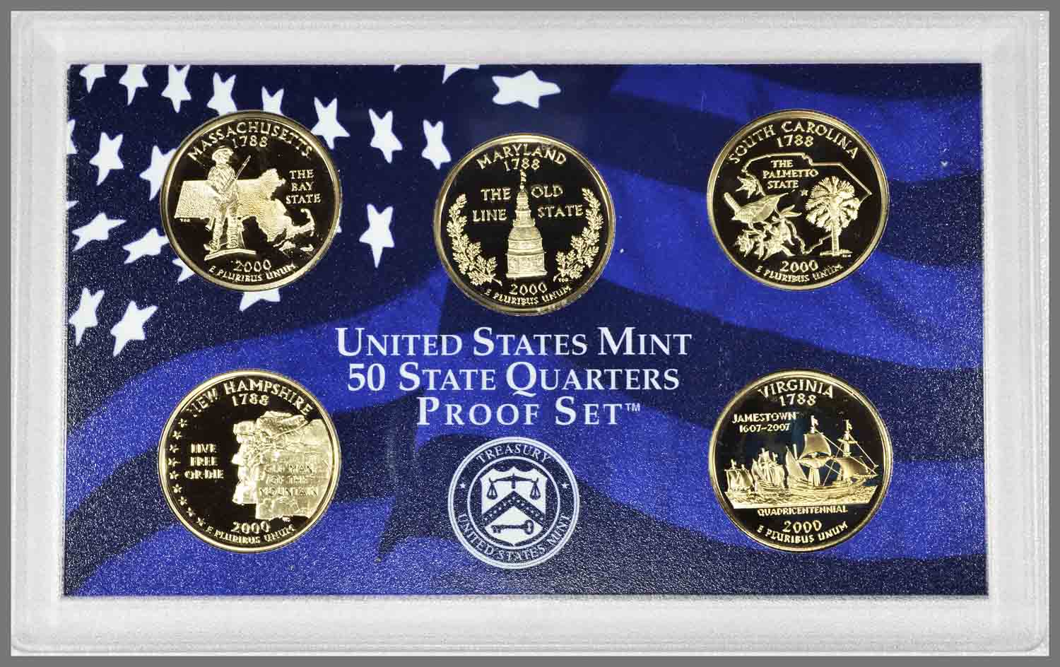 2000 Proof State Quarters