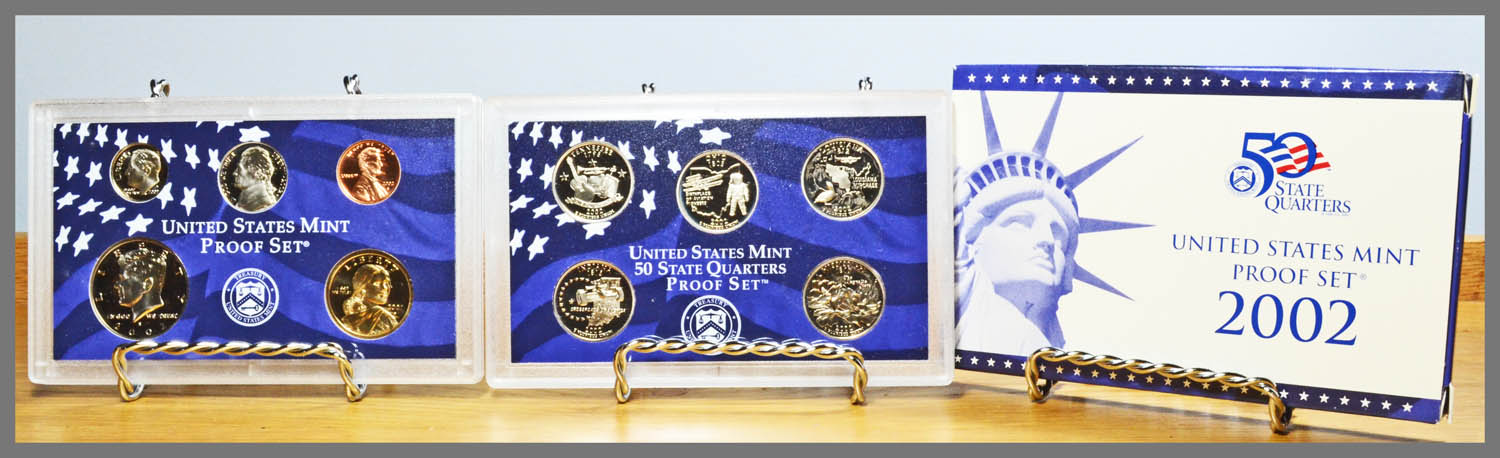 2002 10-Coin Proof Set