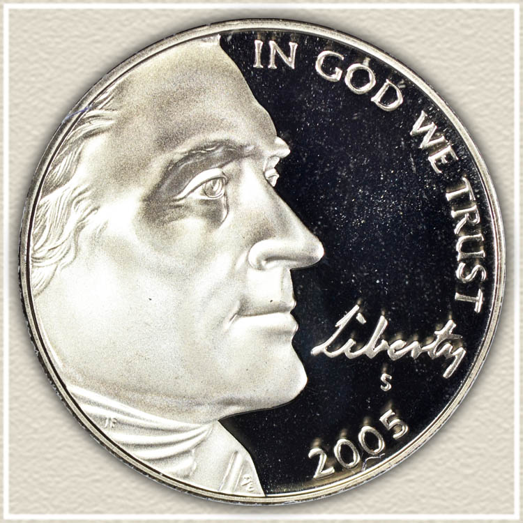 2005 Ocean in View Nickel Obverse