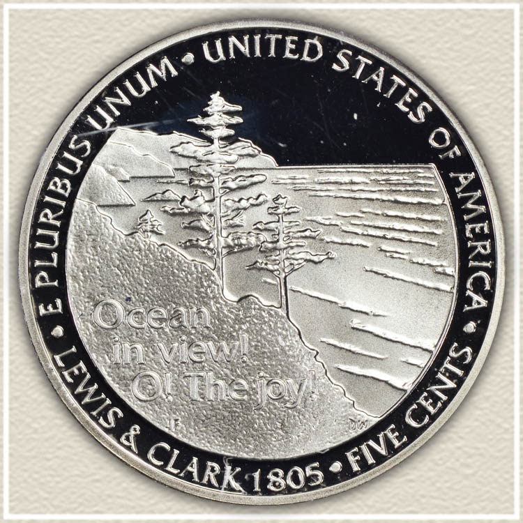 2005 Ocean in View Nickel Reverse