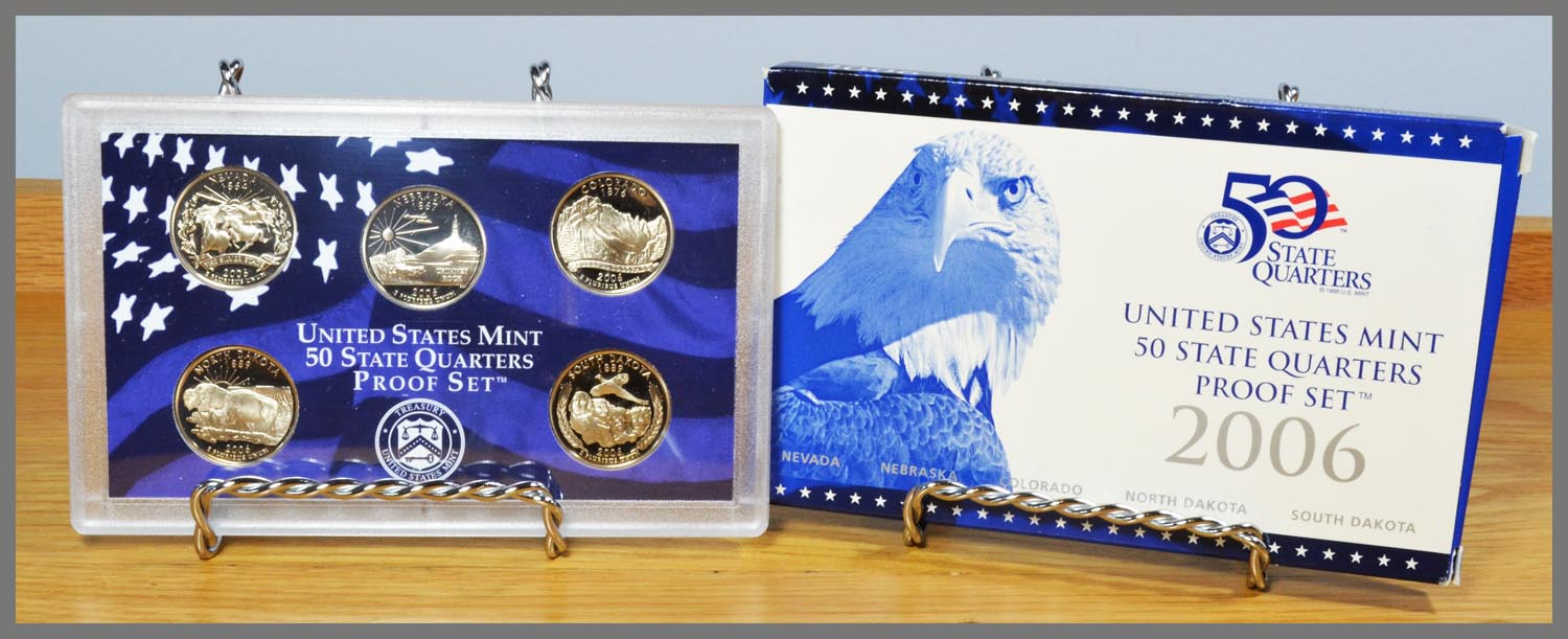 2006 State Quarter Proof Set and Package
