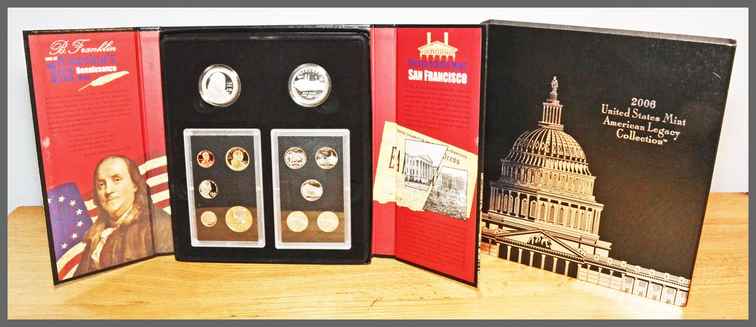 2006 American Legacy Proof Set and Packaging