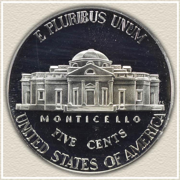 Reverse 2006 Monticello Nickel