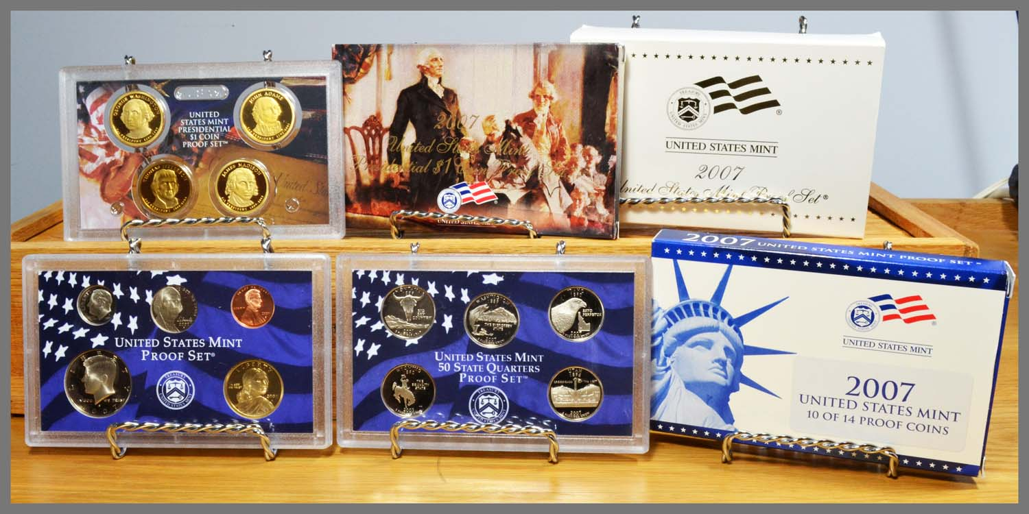 2007 United States Mint Silver Proof Set