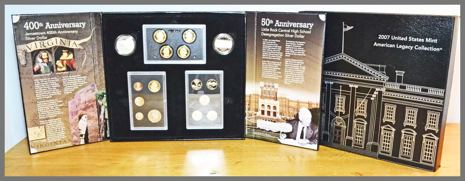 2007 American Legacy Proof Set and Package
